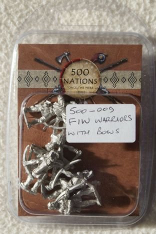 Conquest Miniatures 28mm 500-009 FIW Warriors with Bows